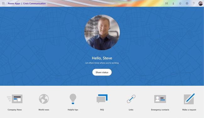 Workplace Community Interface