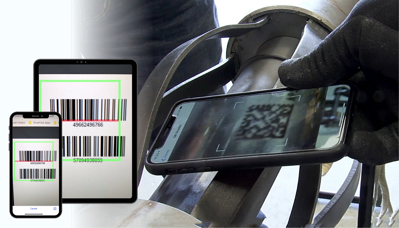 SmartHub Rounds - Scan Barcodes QR codes -